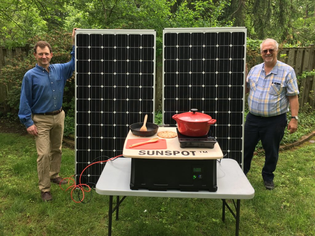 Paul and Doug with SUNSPOT™