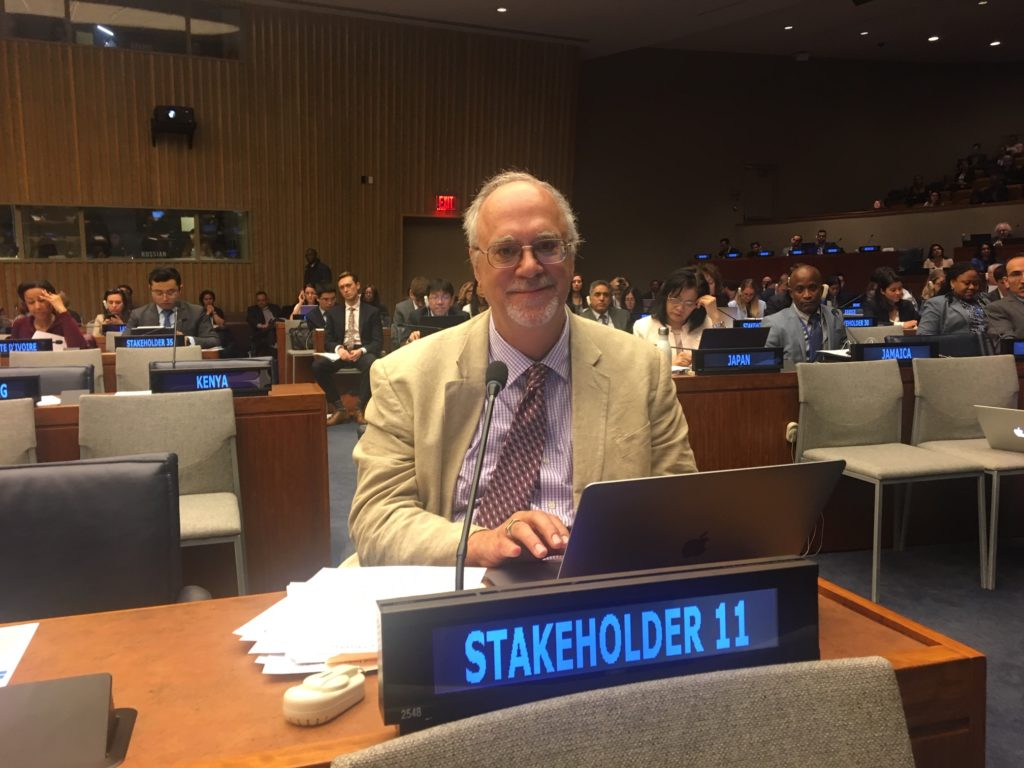 Doug at United Nations